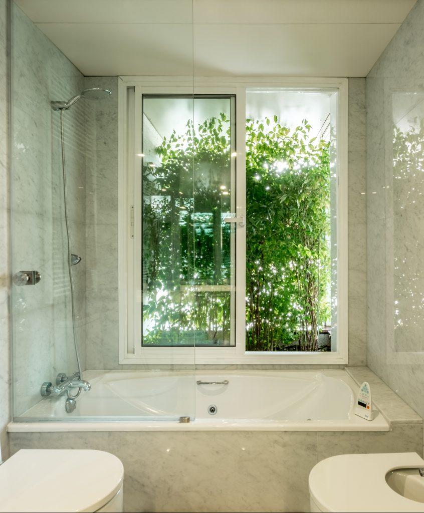 baño ventana natutal