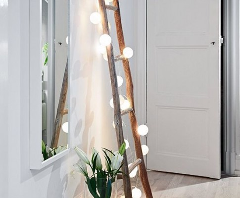 DIY Escaleras que también decoran