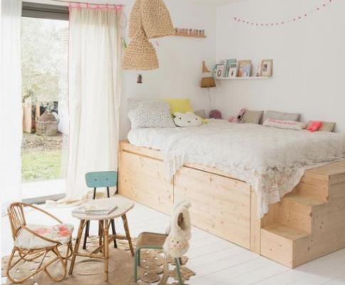 Muebles de madera y tendencias eco-friendly para la habitación de tu hijo